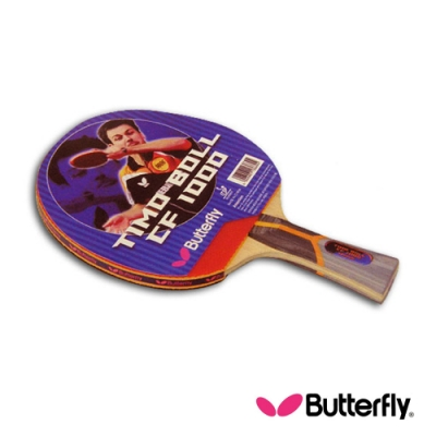 Butterfly  貼皮負手板 TIMO BOLL CF-1000