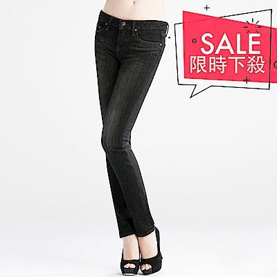 BRAPPERS 女款 新美腳Royal系列-彈性保暖窄管褲-黑