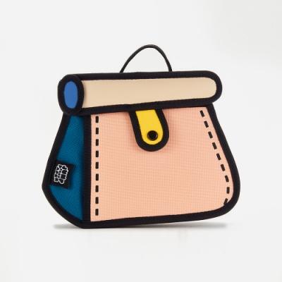 JumpFromPaper 2D包 哈密瓜蛋糕包(卡其色) 肩背包 鏈包 手提包