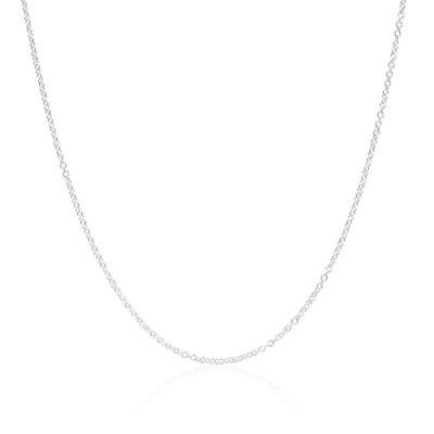 Tiffany&Co. 經典純銀項鍊 18吋
