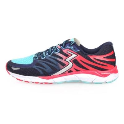 361度 361° 女慢跑鞋-訓練 路跑 丈青水藍紅