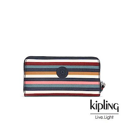 Kipling繽紛仲夏條紋多卡層長夾-ALIA