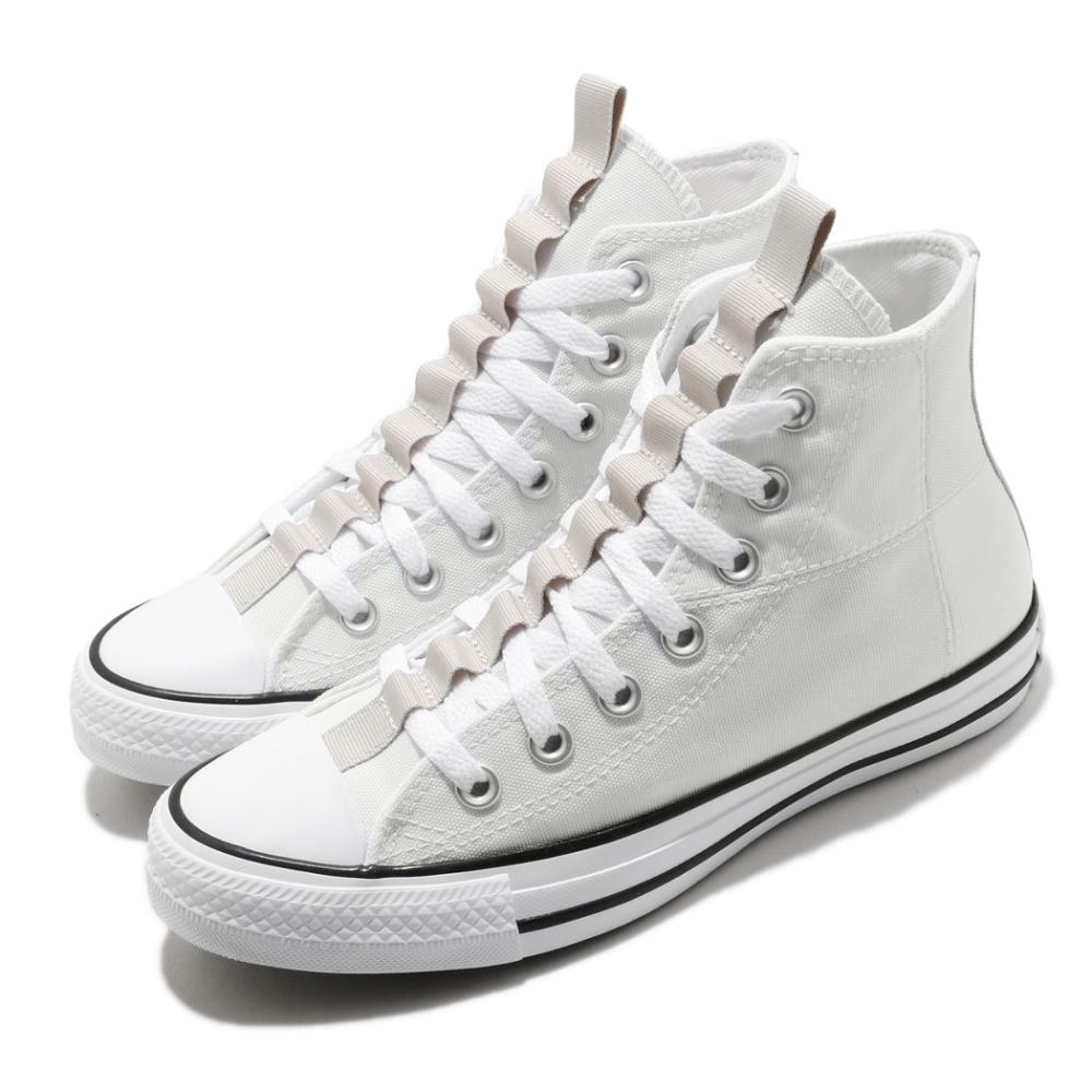 Converse 休閒鞋 All Star Hi 高筒 穿搭 男女鞋 基本款 簡約 帆布 情侶款 球鞋 灰 卡其 170131C
