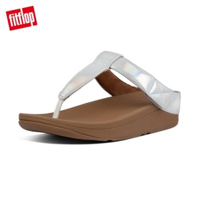 FitFlop MINA IRIDESCENT TOE-THONGS夾腳涼鞋-女(珍珠白)