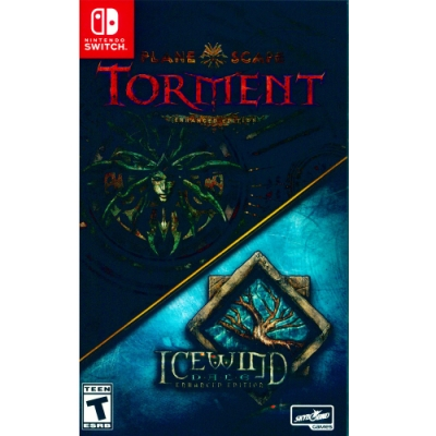 異域鎮魂曲 & 冰風之谷 加強版合輯 Planescape: Torment and Icewind Dale: Enhanced Editions - NS Switch 英文美版