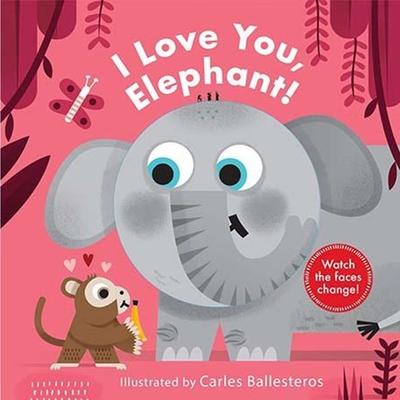 Little Faces:I Love You, Elephant! 我愛大象變臉操作書