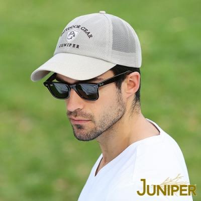 JUNIPER 防曬透氣網帽舒適運動遮陽鴨舌帽