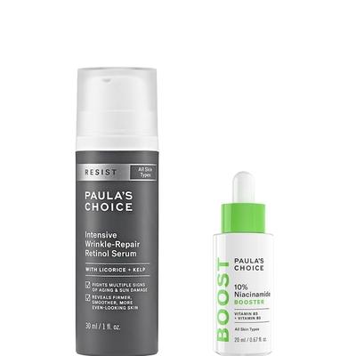 寶拉珍選 抗老化A醇極效修護精露+10%B3毛孔調理美白精萃
