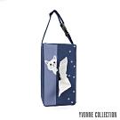 Yvonne Collection 貓咪車用面紙套-藍