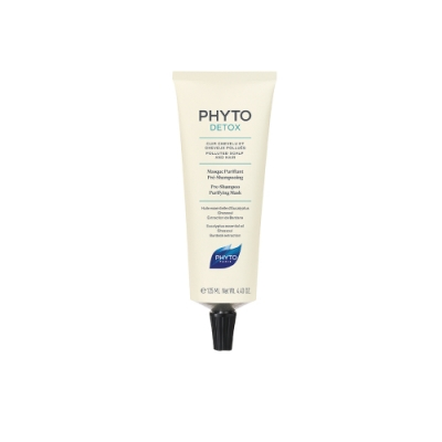PHYTO髮朵 舒氧淨化髮泥125ml (新品上市)