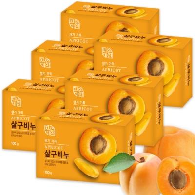 韓國 MKH無窮花 杏桃保濕美肌香皂 6入