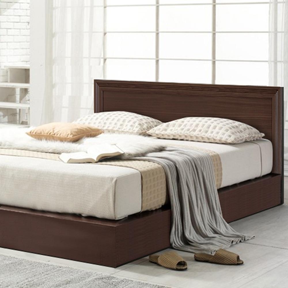 凱曼 馬克洛5尺雙人床組-三件式(床頭片+床底+床墊)-兩色可選