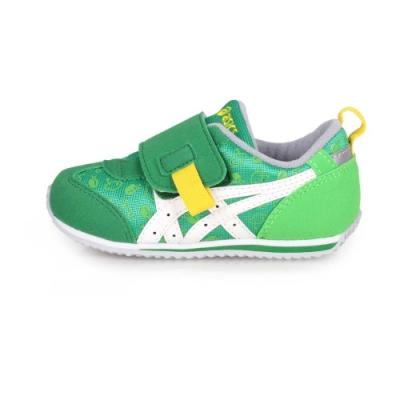 ASICS 小童休閒運動鞋 IDAHO BABY 綠白黃