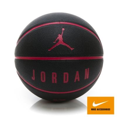 NIKE JORDAN ULTIMATE 8P 7號籃球 黑紅 JKI1205307