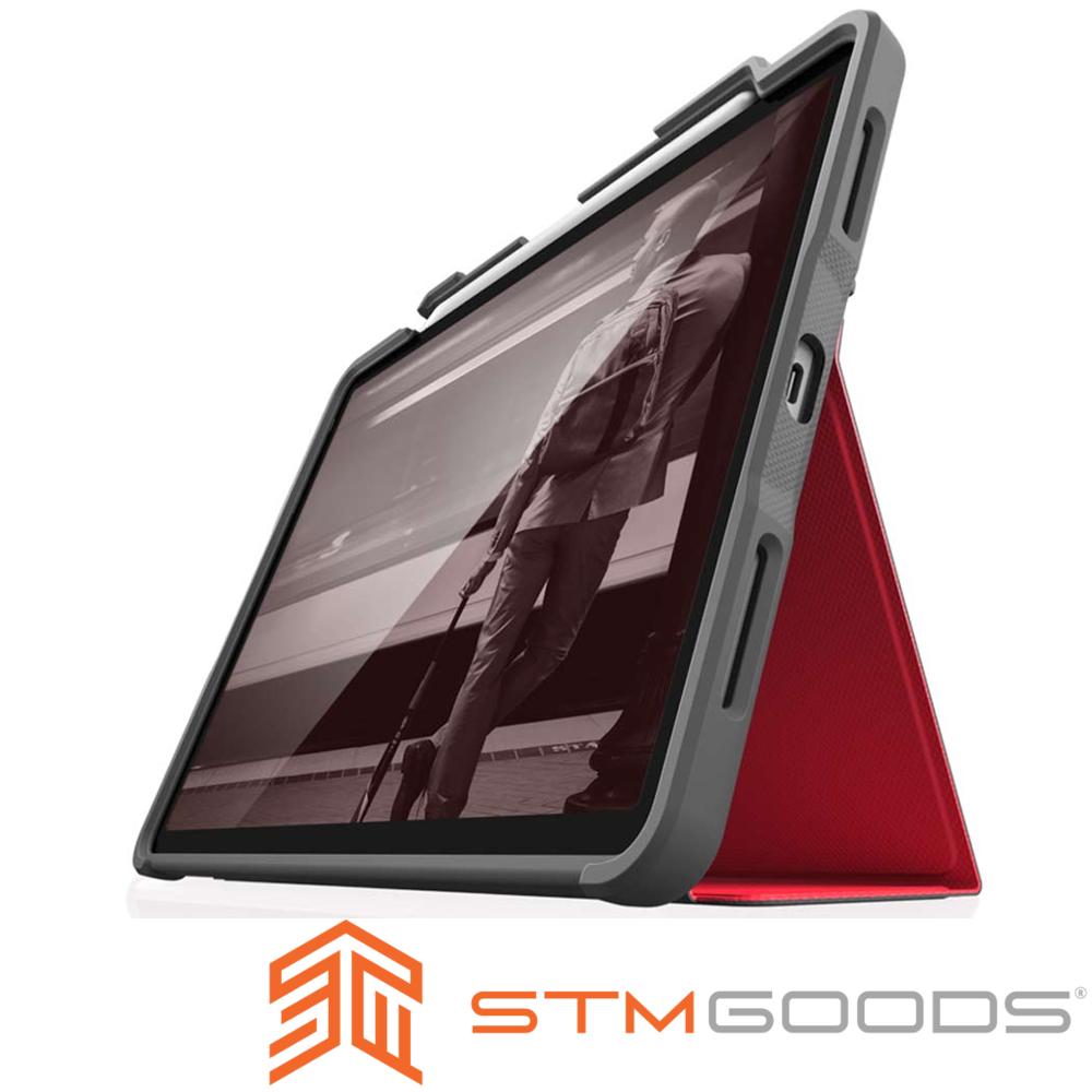 澳洲 STM Dux Plus iPad Pro 11 吋專用軍規防摔平板保護殼 - 紅 @ Y!購物