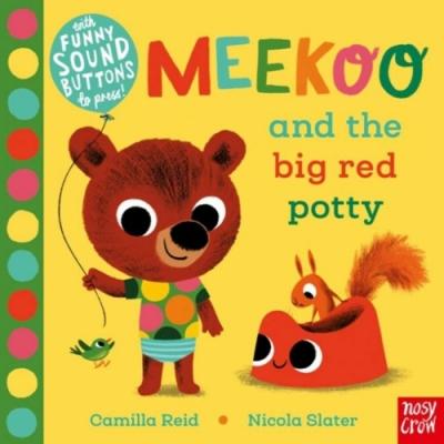 Meekoo And The Big Red Potty 米庫上廁所硬頁音效書