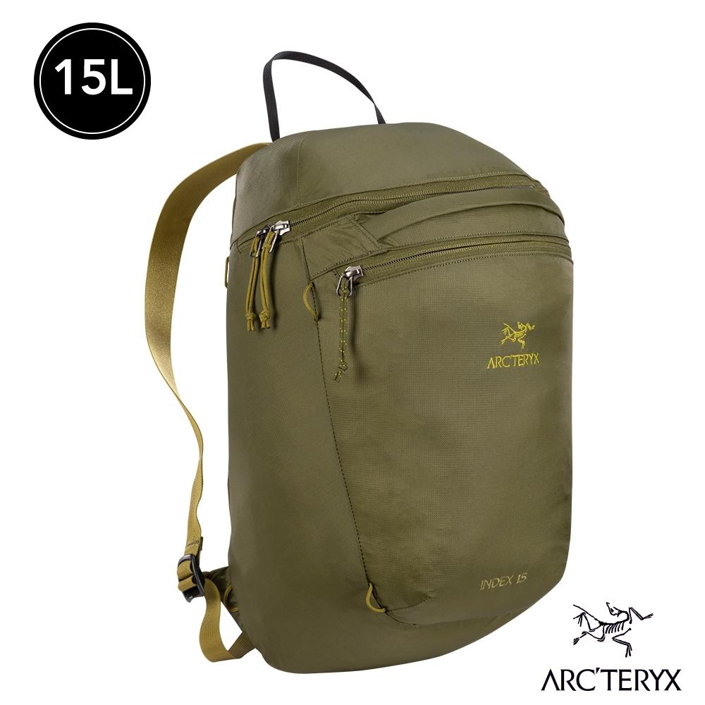 Arcteryx 始祖鳥 24系列 Index 15L 多功能後背包 叢林綠