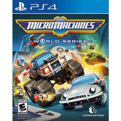 迷你賽車 世界大賽 Micro Machines World Series - PS4 英文美版