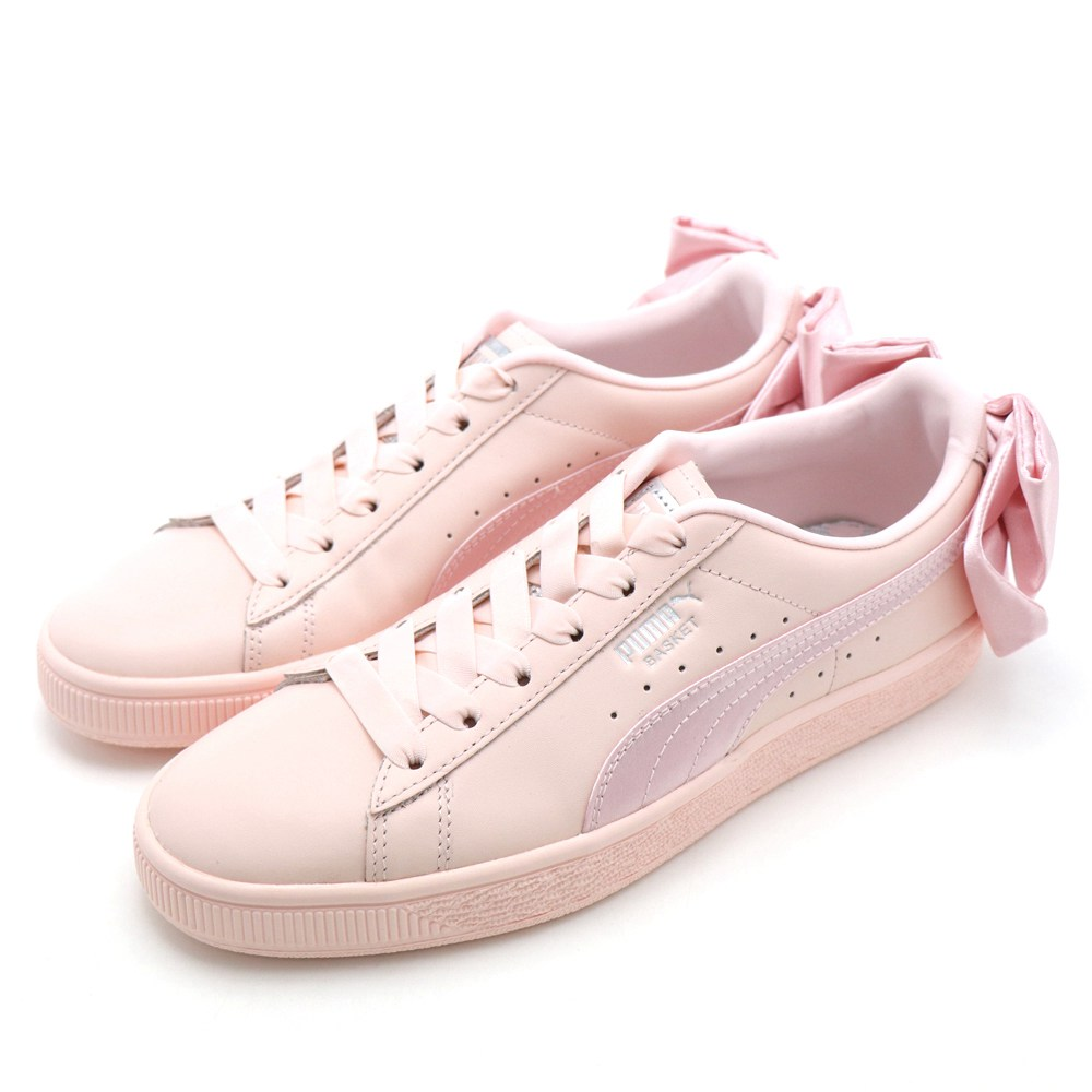 PUMA Basket Bow Wns 女休閒鞋 36731902 粉紅