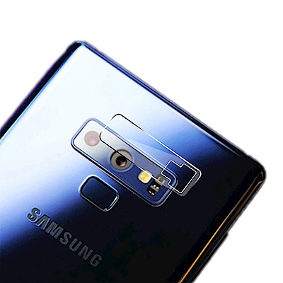 QinD SAMSUNG Galaxy Note 9 鏡頭玻璃貼(兩片裝)