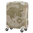 日本WORLD TRUNK 7500-46-19吋 PC+ABS鋁框輕量登機箱 雪白璨世界