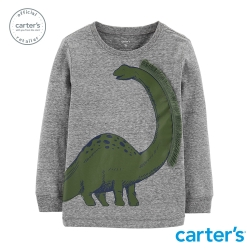【Carter s】立體恐龍造型長袖上衣 (台灣總代理)