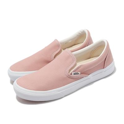 Vans 休閒鞋 V98CF Bloom Slip On 女鞋 懶人鞋 無鞋帶 好穿脫 帆布 粉 白 6117920005