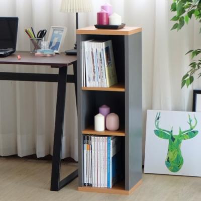 【EASY HOME】加厚開放式三層收納櫃-31.4*29.5*93.6CM-DIY