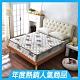 雙人5尺 酷涼感抗菌 側邊強化獨立筒床墊 正反可睡 Ally愛麗 product thumbnail 1