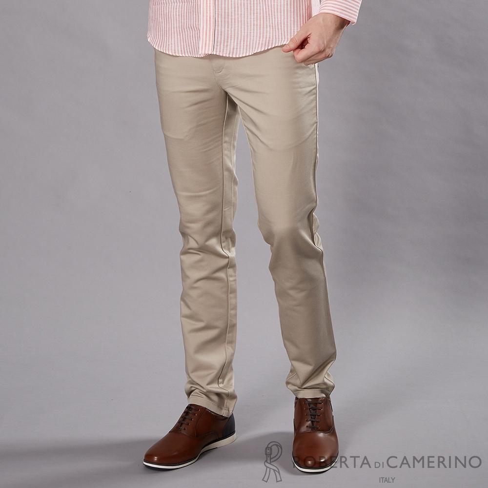 ROBERTA諾貝達 合身版 時尚流行休閒褲 卡其