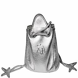 OBHOLIC 義大利小羊皮縮口零錢包 OB09CC001