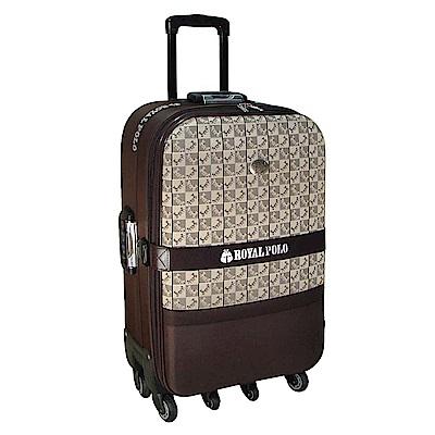 (ROYAL POLO皇家保羅)  25吋 混款加大六輪旅行箱/行李箱