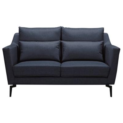 文創集 波拉利 現代透氣緹花布二人座沙發(二色可選)-158x102x93cm免組