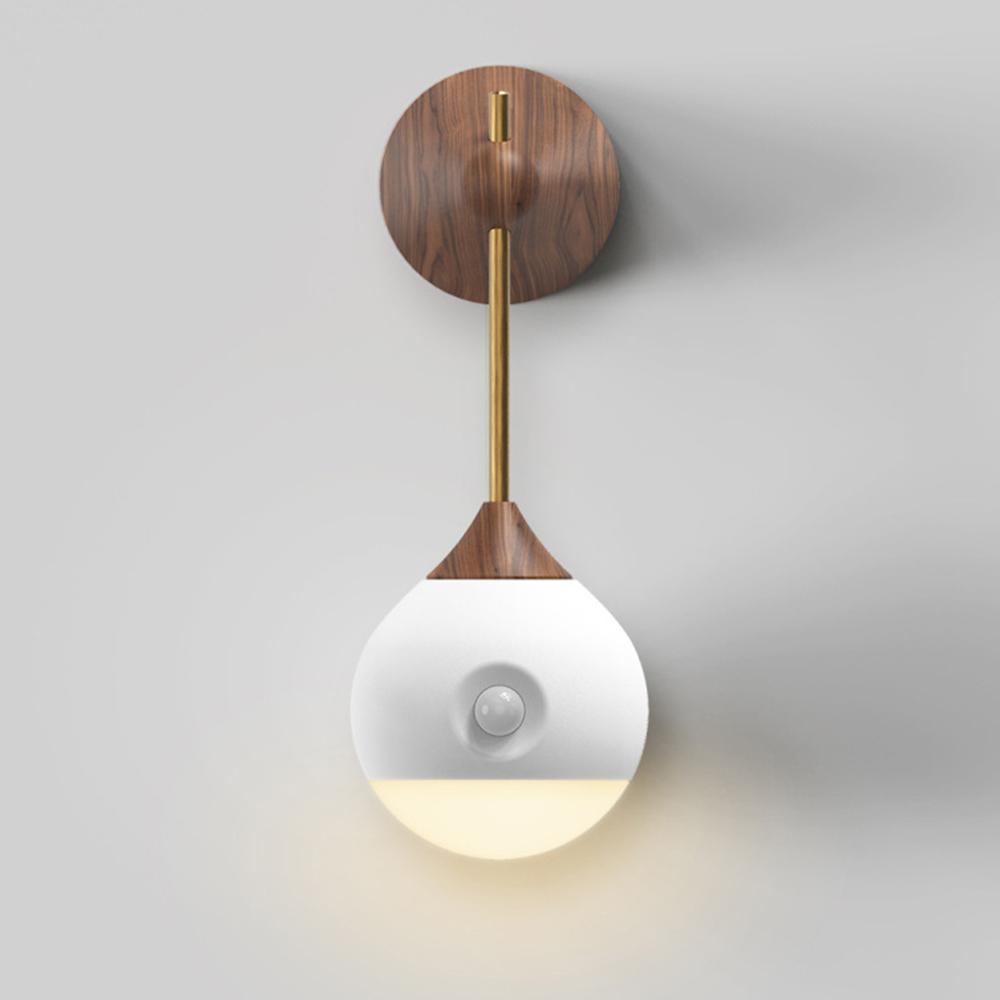 小明光控人體感應燈/小夜燈/LED床頭燈
