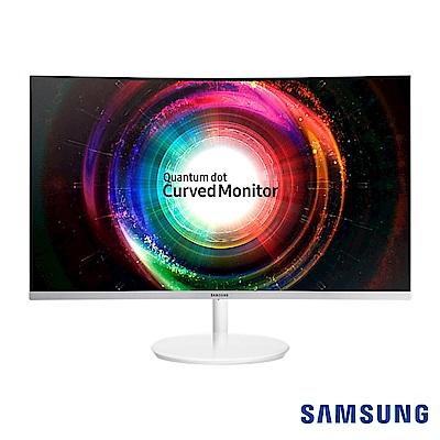 SAMSUNG C27H711QEE 27型 VA曲面電腦螢幕