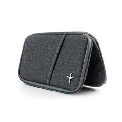 德國TROIKA防盜護照包TRV20/GY防感應卡夾設計款護照包