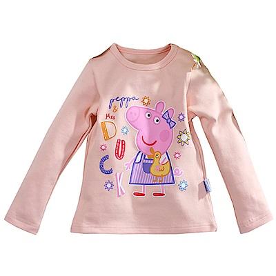 粉紅豬小妹彈性長袖T恤 k60916 魔法Baby