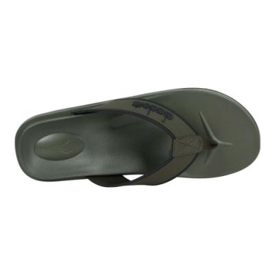 DIADORA 男拖鞋-人字拖鞋 夾腳拖鞋 海灘 戲水 游泳 海邊 DA71208 軍綠黑