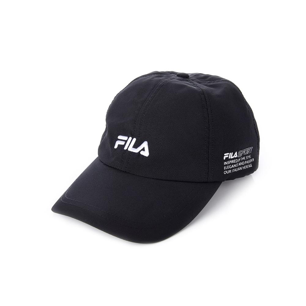 FILA 時尚運動帽-黑 HTV-1005-BK