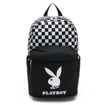PLAYBOY- 後背包 icontype系列-黑色