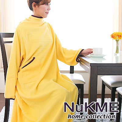 棉花田 NuKME 時尚多功能創意袖毯-3色可選