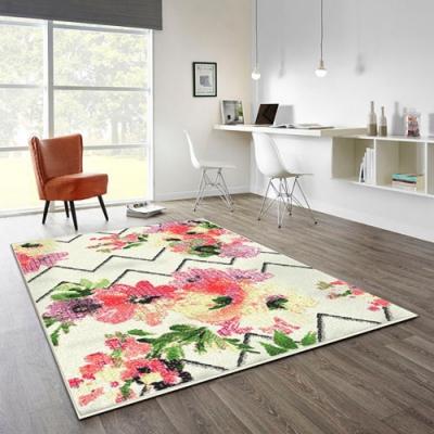 范登伯格 - SWING 進口仿羊毛地毯 - 綻放 (80 x 150cm)