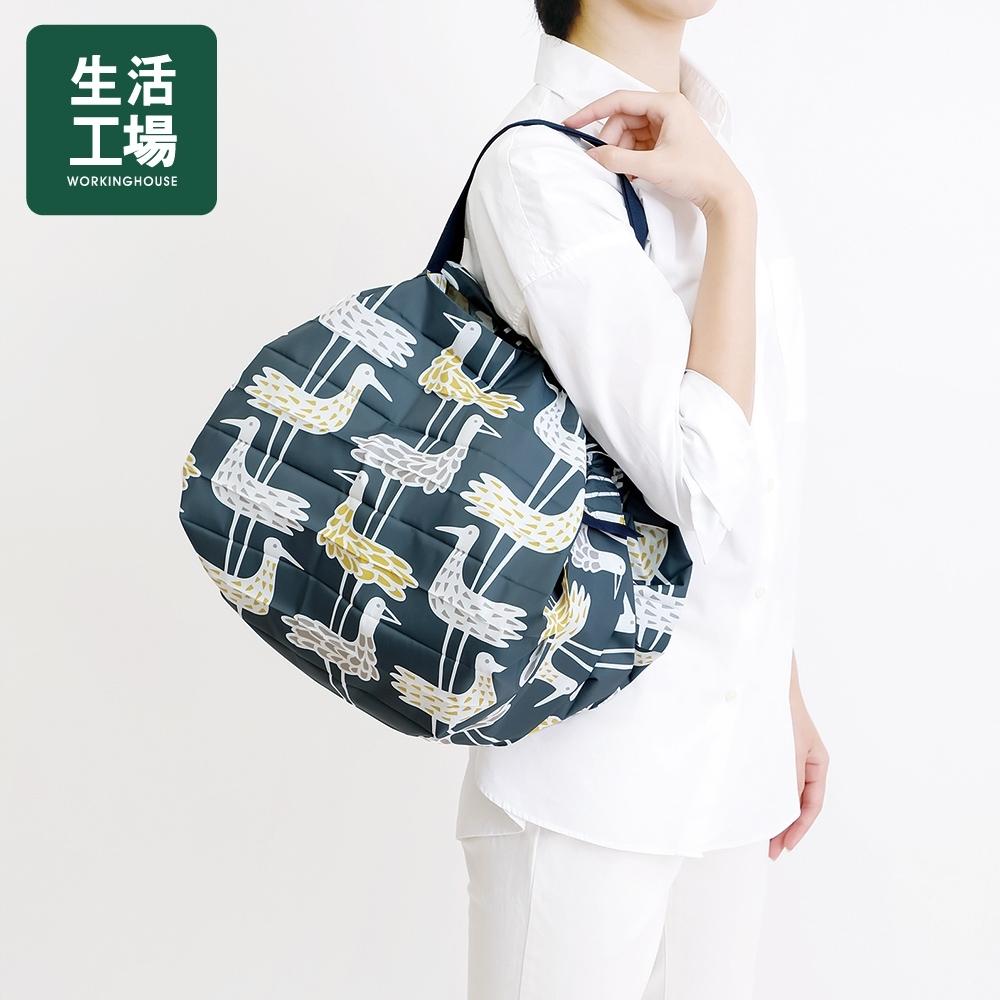 【女神狂購物↓38折起-生活工場】*日本SHUPATTO秒收袋BENGT & LOTTA限量聯名款S474水鳥(M)