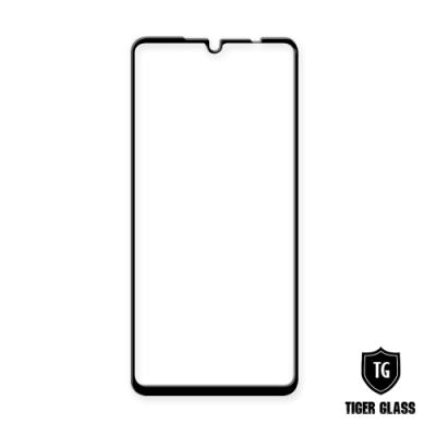 T.G LG G8X ThinQ 全包覆滿版鋼化膜手機保護貼(防爆防指紋)