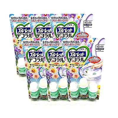 日本 Kobayashi 小林製藥 馬桶除臭凝膠 森林花香 7.5g (3入) x 6盒