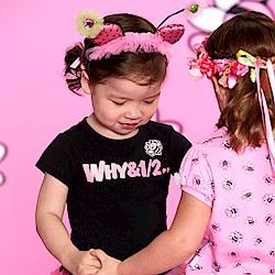 WHY AND 1/2 mini 棉質萊卡T恤-親子裝 1Y~4Y