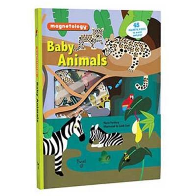 Baby Animals:Magnetology 動物寶寶要回家配對磁鐵書