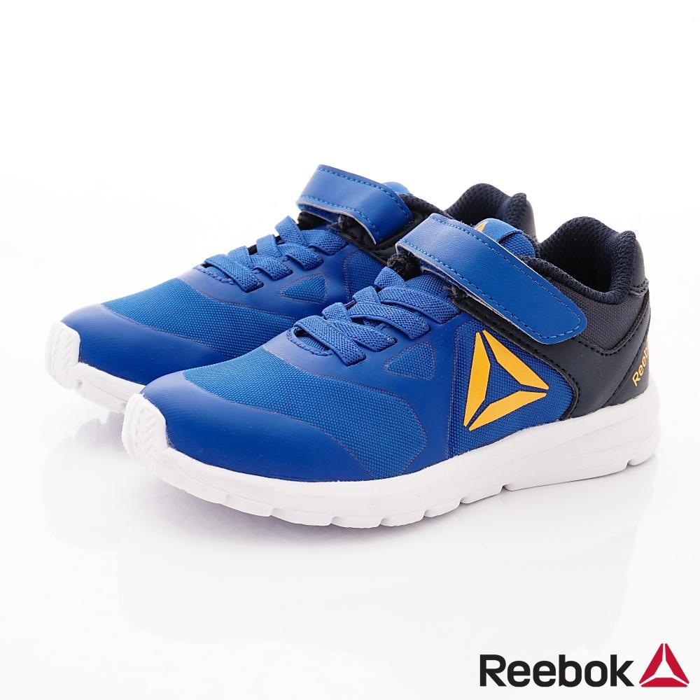 Reebok頂級童鞋 經典簡約運動鞋款 FO435藍(中小童段)