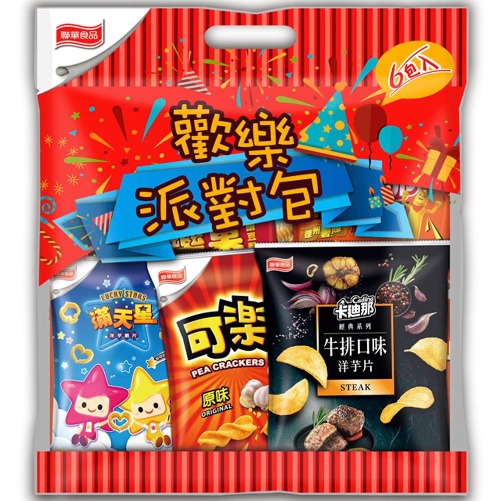 (活動) 聯華食品 歡樂家族量販包(6包/袋)
