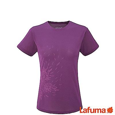 LAFUMA-女ACCESS 短袖排汗衣-LFV113432868-紫